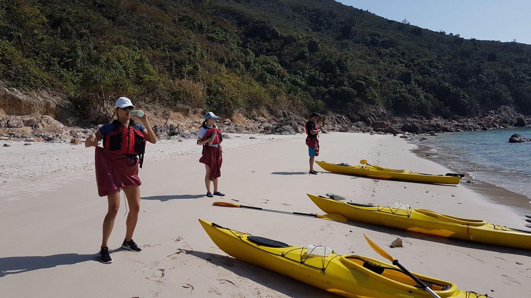 24 Jan 2019 UNESCO Geopark 1 day sea kayak trip Hong Kong 29