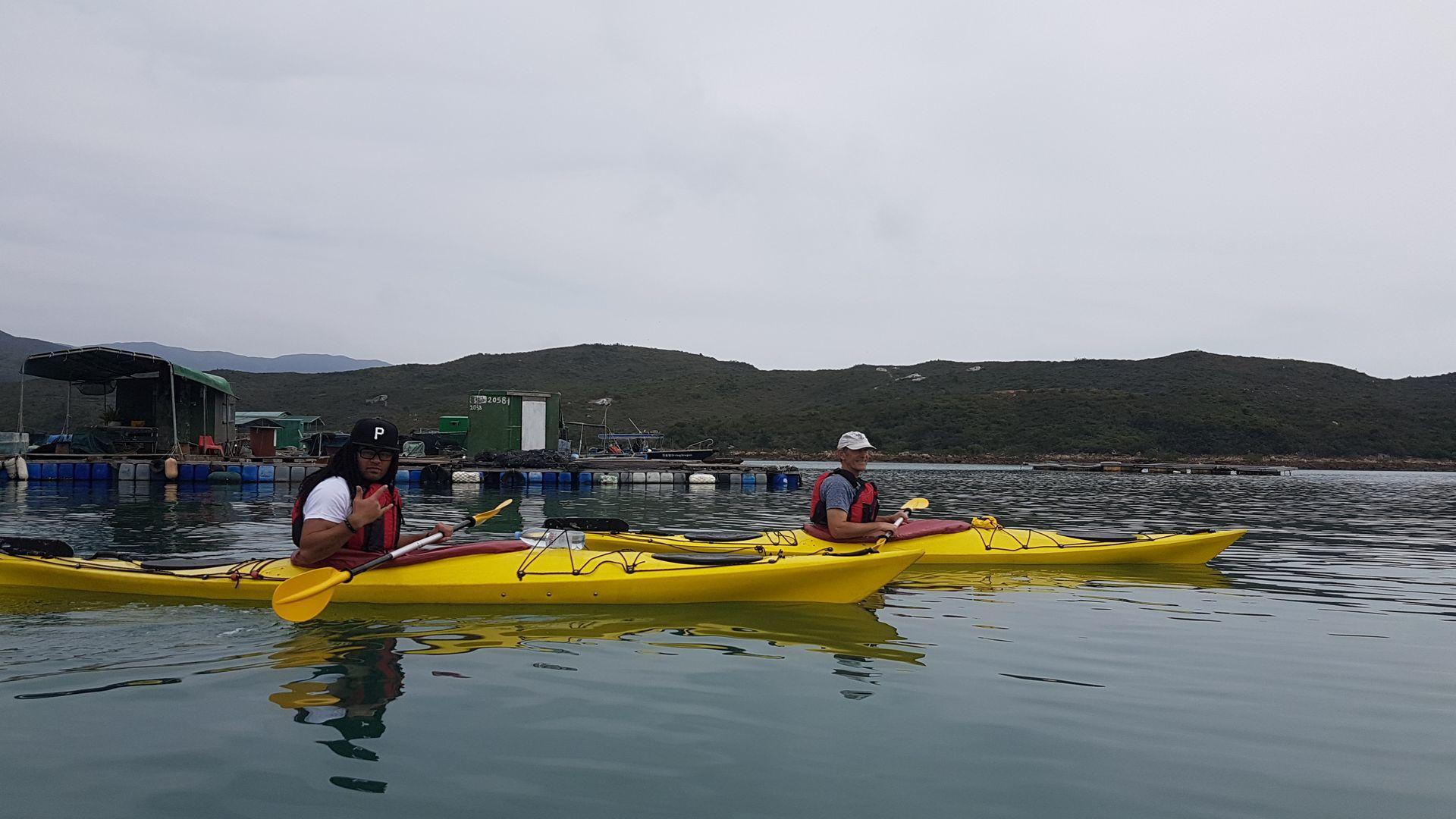 Sea Kayak Hong Kong UNESCO Geopark Jan 04 2019