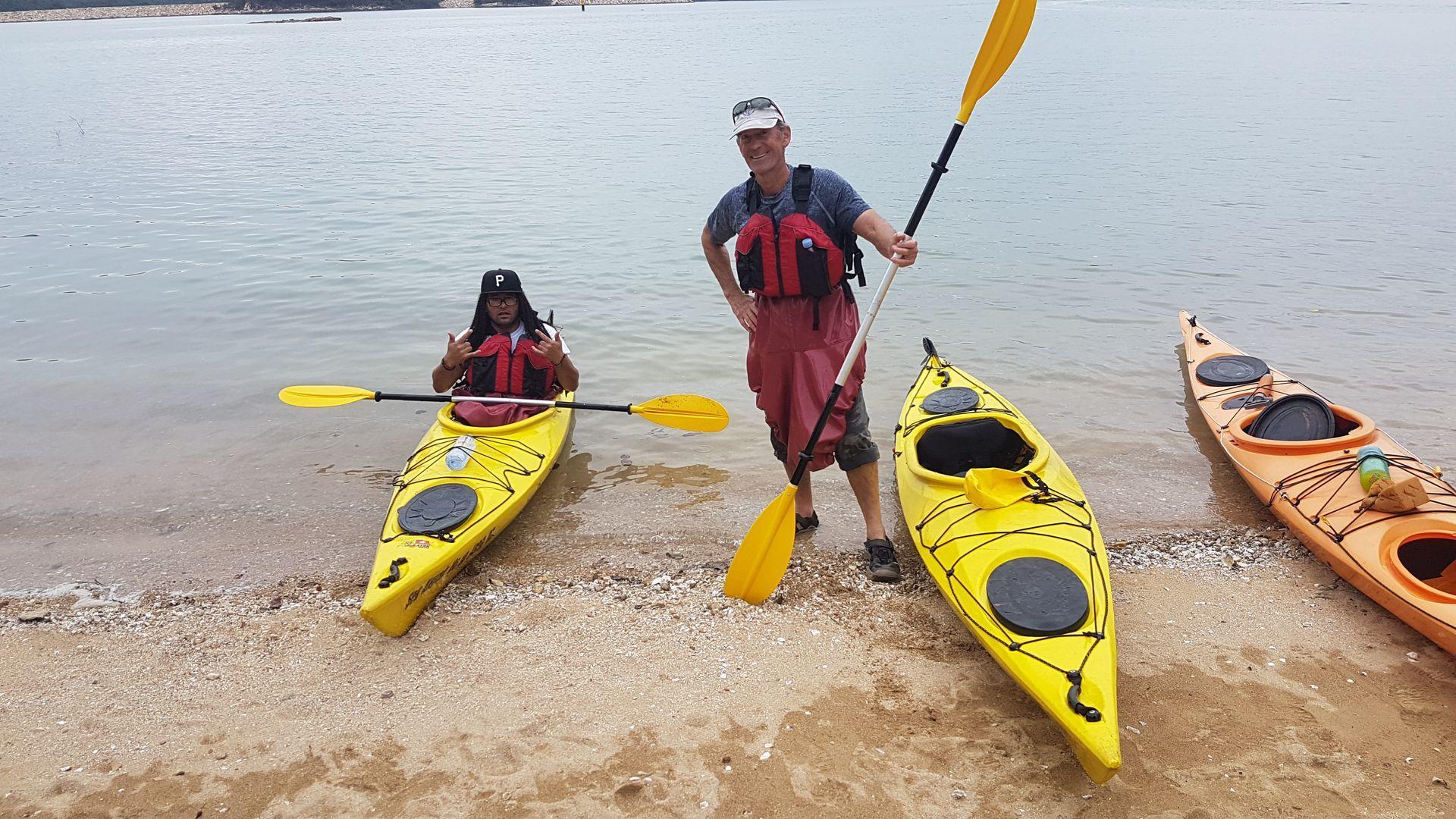 Sea Kayak Hong Kong UNESCO Geopark Jan 2019