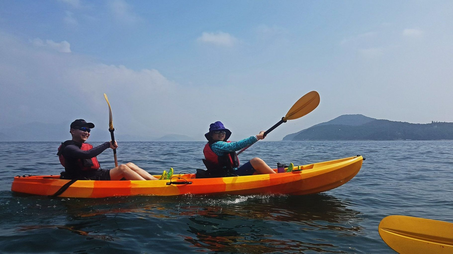 06 Feb 2019 Sea Kayak Hong Kong Dog Island 19