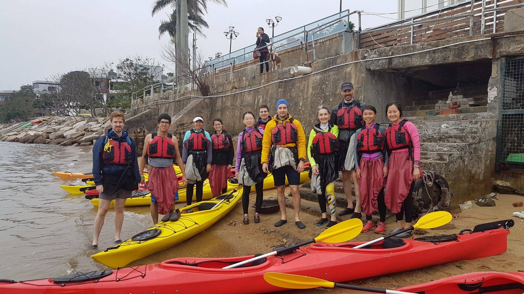 10 Feb 2019 Sea Kayak Hong Kong UNESCO 1 day 02
