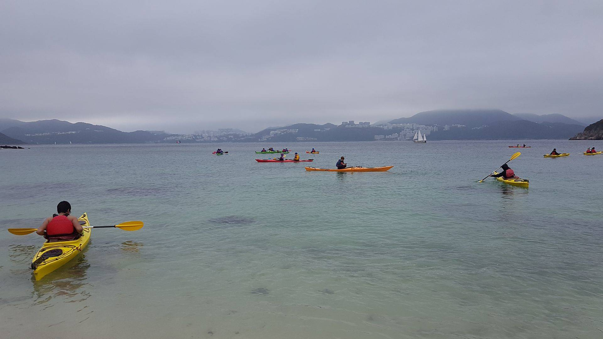 10 Feb 2019 Sea Kayak Hong Kong UNESCO 1 day 04