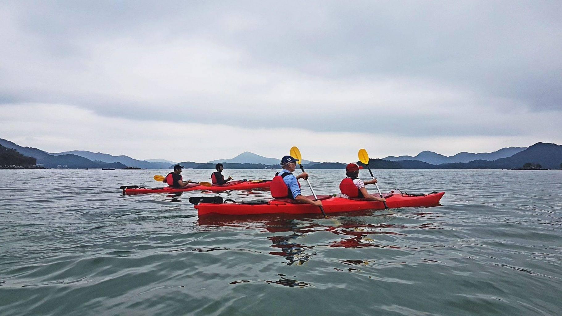 15 Feb 2019 Sea Kayak Hong Kong Sai Kung Geopark 06