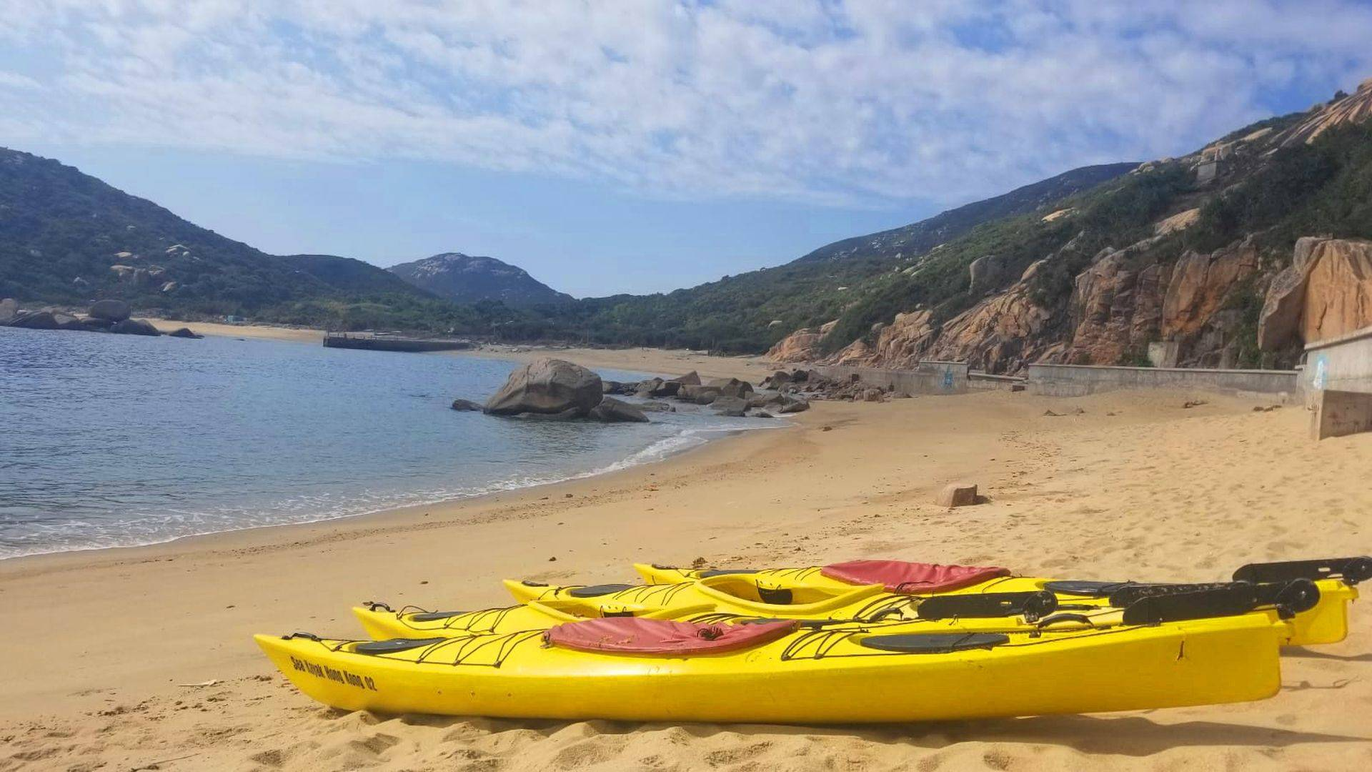 16 Feb 2019 Sea Kayak Hong Kong Sth Lamma Island 02