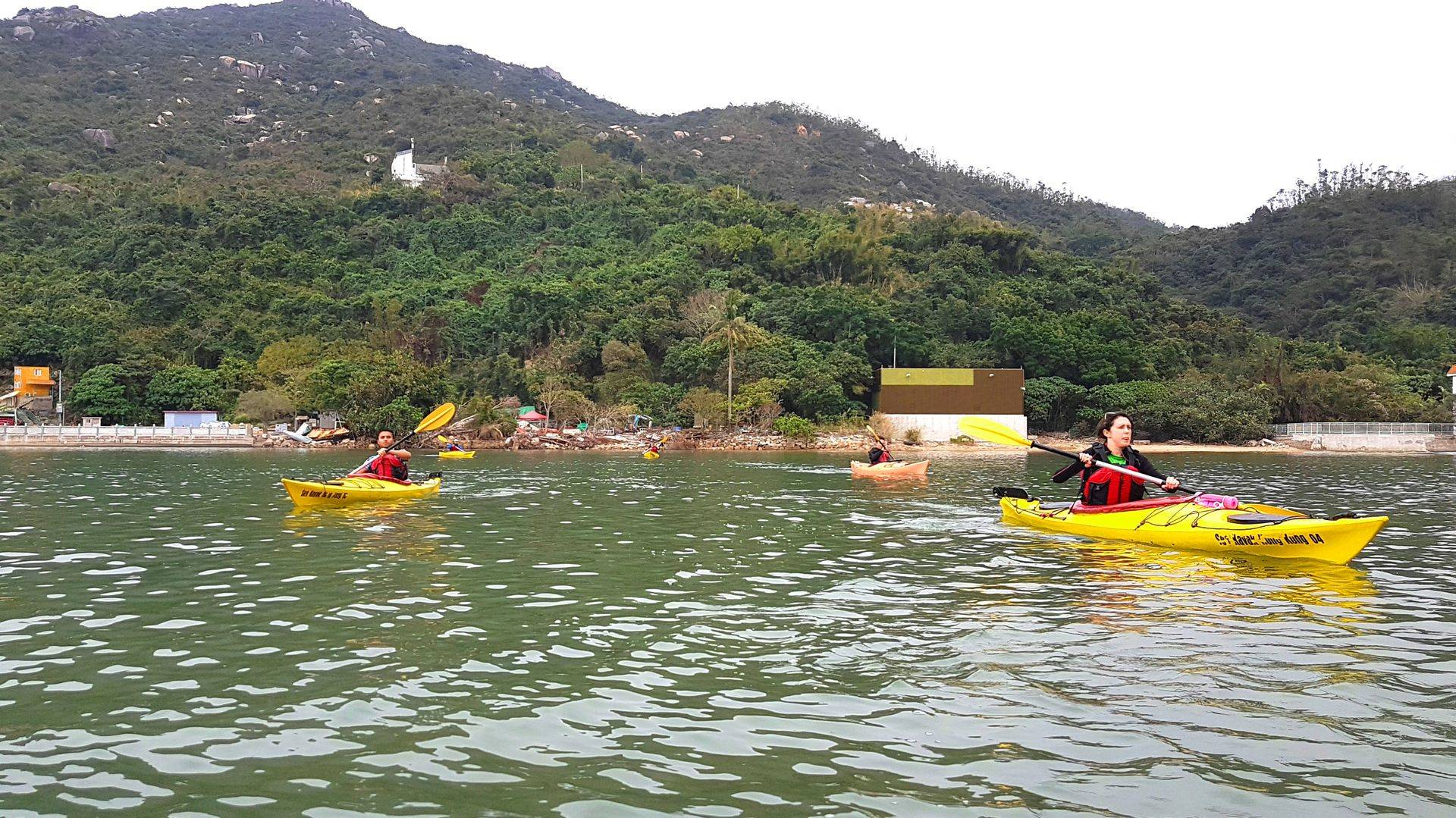 17 Feb 2019 Sea Kayak Hong Kong Kayak Course 02
