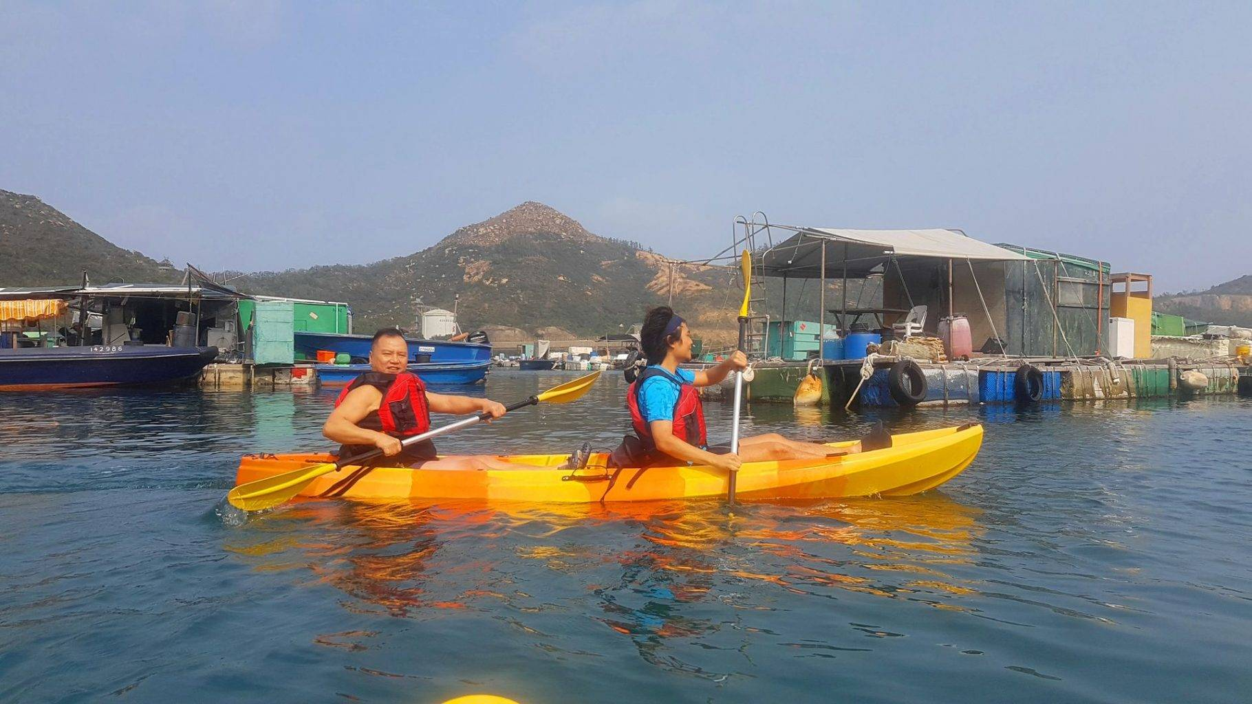 27 Feb 2019 Sea Kayak Hong Kong Dog Island 07