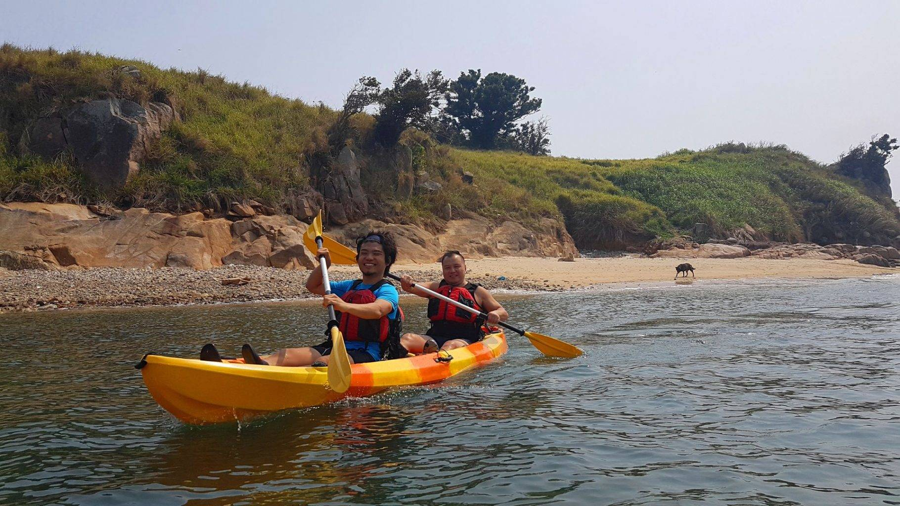 27 Feb 2019 Sea Kayak Hong Kong Dog Island 20