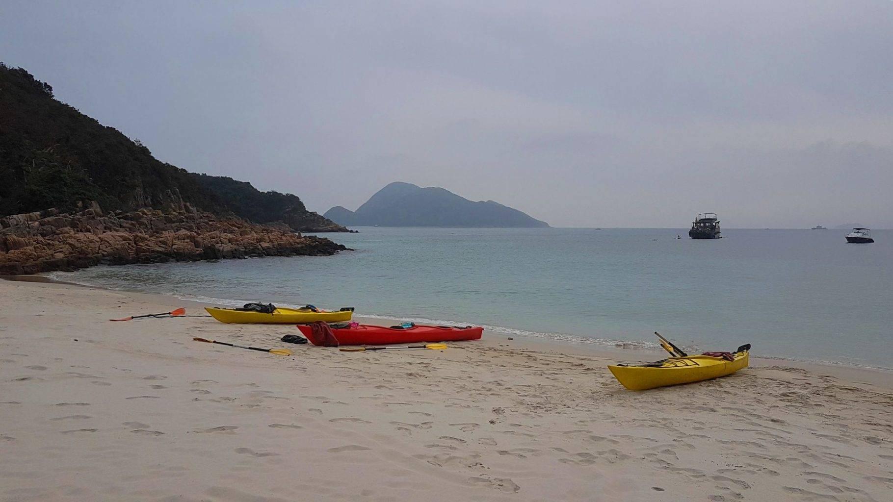 02 Mar 2019 UNESCO 2 day sea kayak trip Hong Kong 14