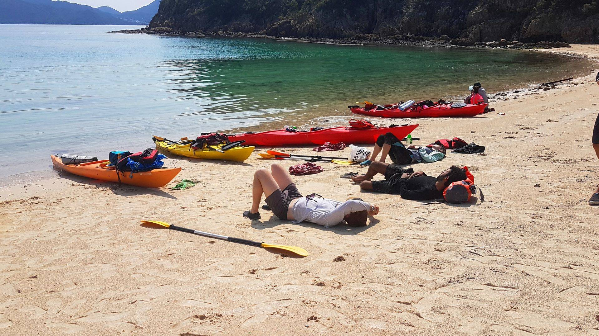 03 Mar 2019 UNESCO 2 day sea kayak trip Hong Kong