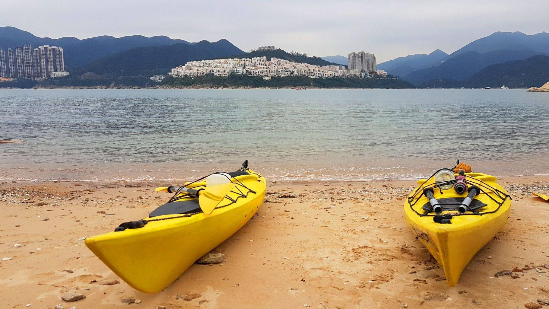 25 Mar 2019 Tai tam sea kayak trip Hong Kong
