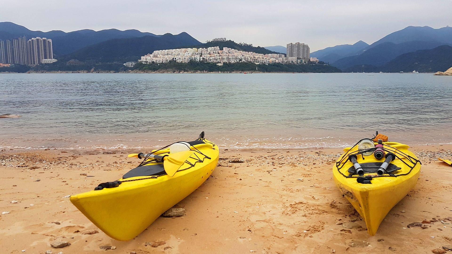 25 Mar 2019 Tai tam sea kayak trip Hong Kong