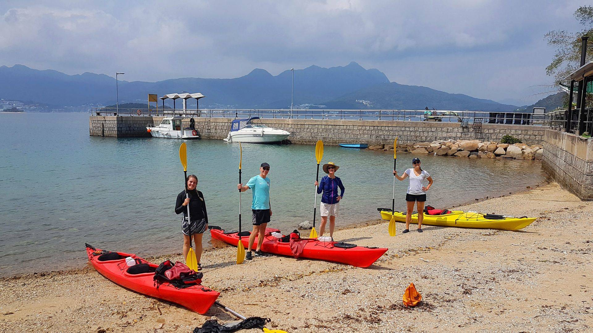 28 Feb 2019 Sea Kayak Hong Kong Sharp Island