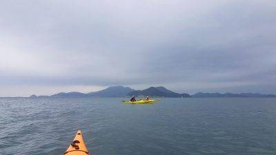 30 Mar 2019 East lamma Channel sea kayak trip Hong Kong