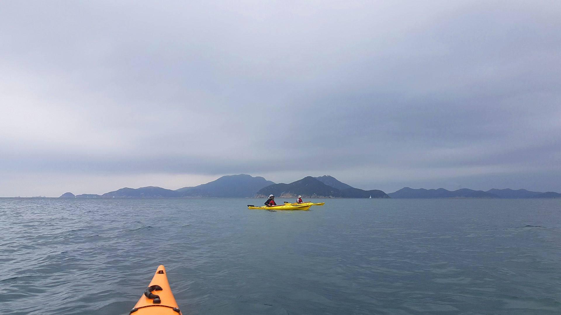 30 Mar 2019 East lamma Channel sea kayak trip Hong Kong