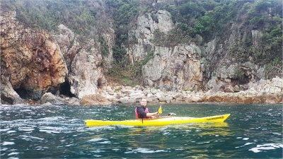05 May 2019 UNESCO Geopark Sharp island 1 day sea kayak trip Hong Kong_22
