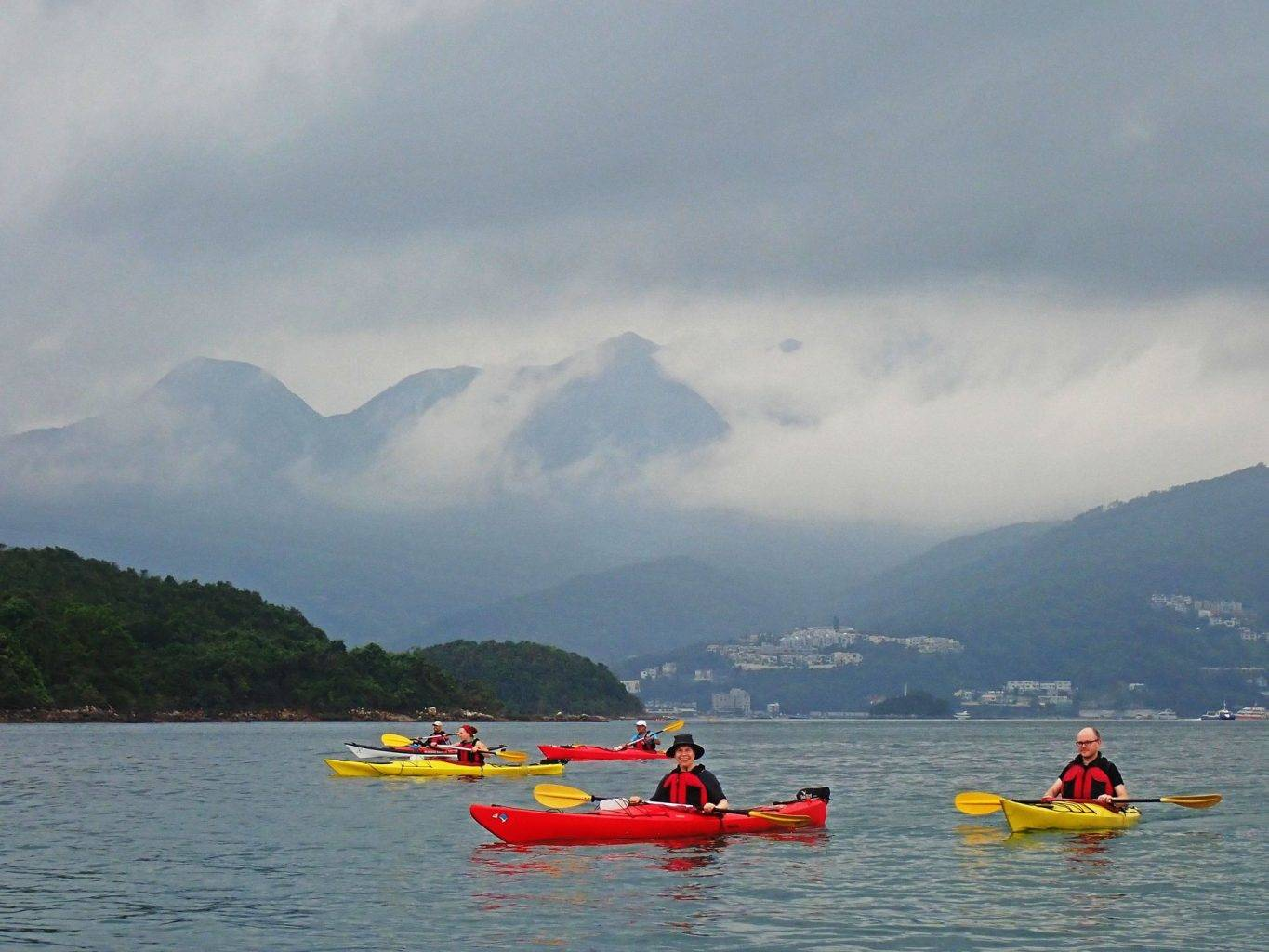 19 Apr 2019 UNESCO Geopark 1 day sea kayak trip Hong Kong_05