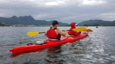 19 Apr 2019 UNESCO Geopark 1 day sea kayak trip Hong Kong_11