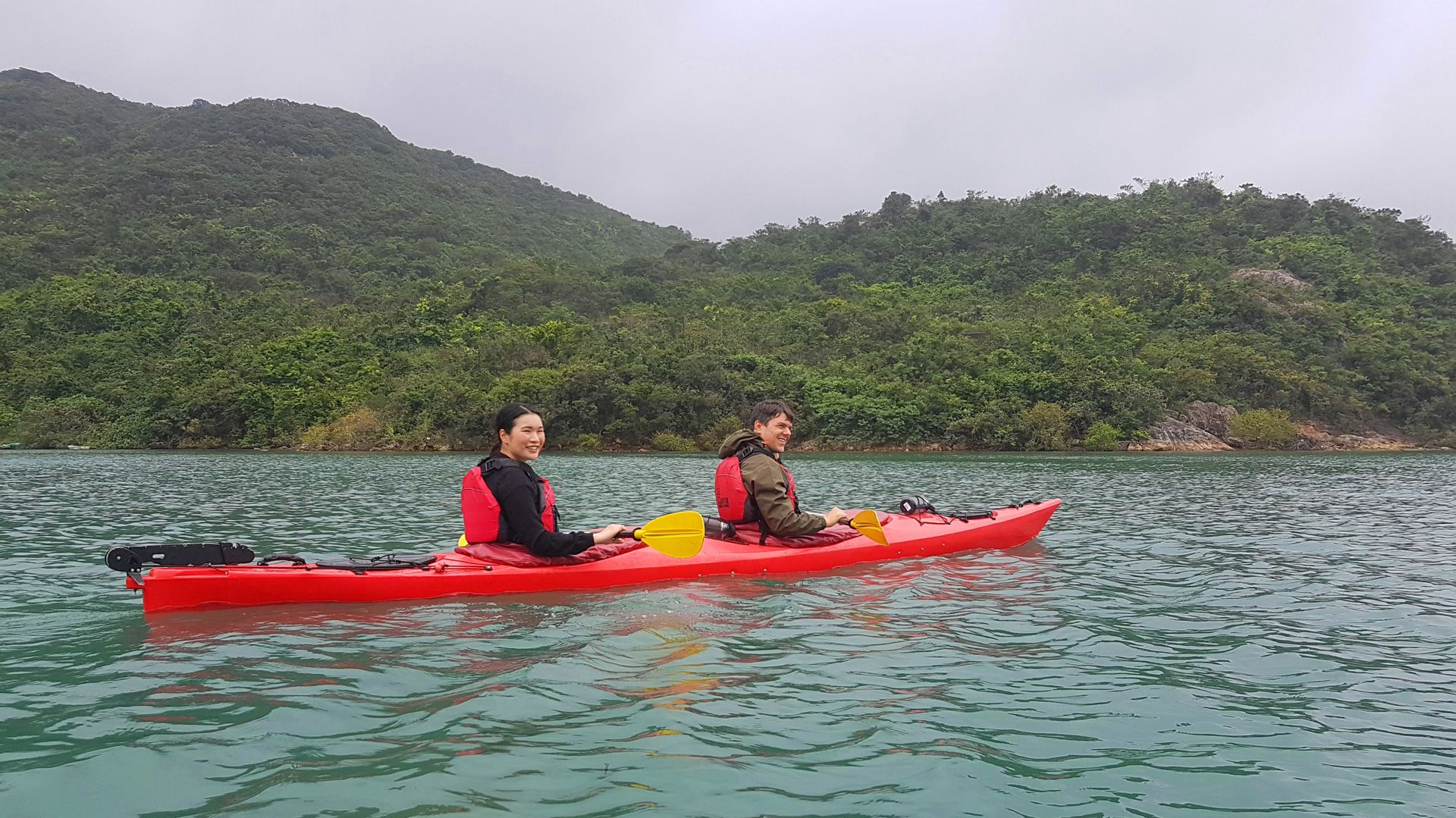 May 06 2019 UNESCO sea kayak