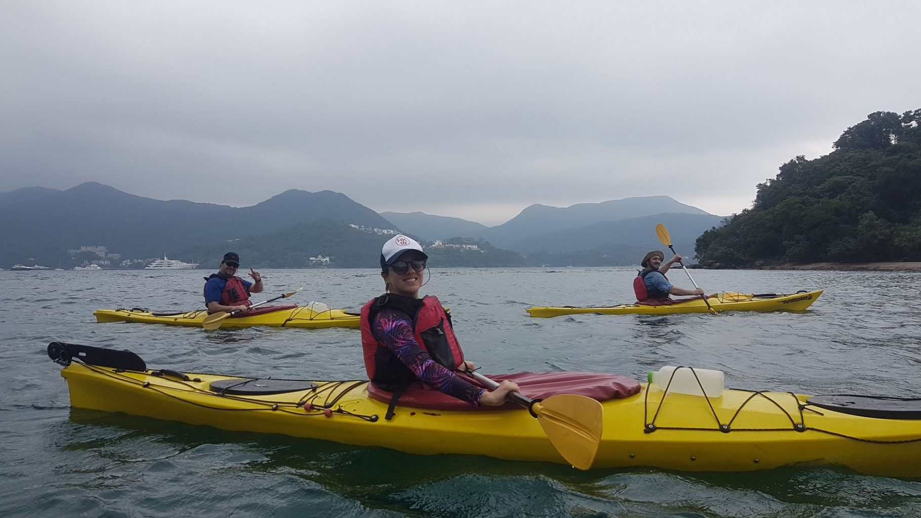 May 24 2019 UNESCO Sharp Island sea kayak_02
