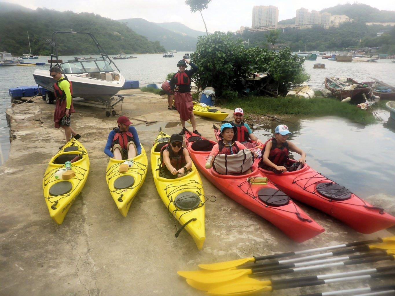 Sea Kayak Hong Kong 2018 Jul 02 Tai Tam_02