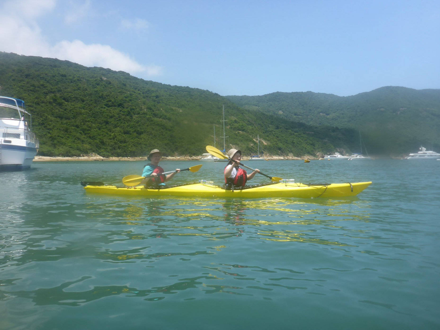 Sea Kayak Hong Kong 2018 Jul 10 Tai Tam_05