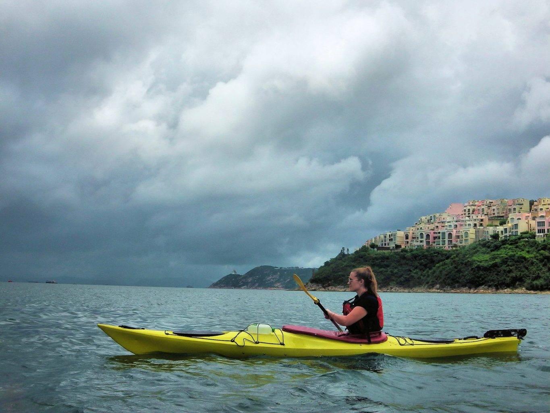 Sea Kayak Hong Kong 2018 Jul 20 Tai Tam_02