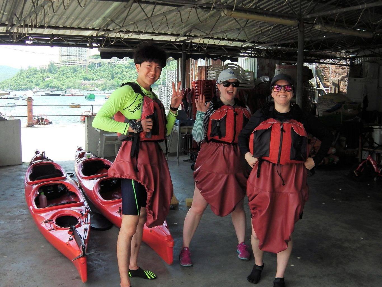 Sea Kayak Hong Kong 2018 Jul 31 Hong Kong Island