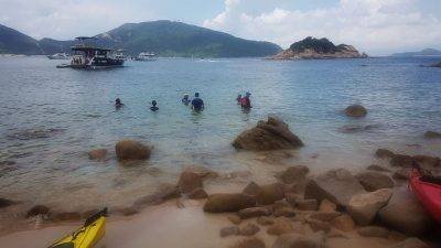 Sea Kayak Hong Kong 2018 Jul01 Tai Tam_26