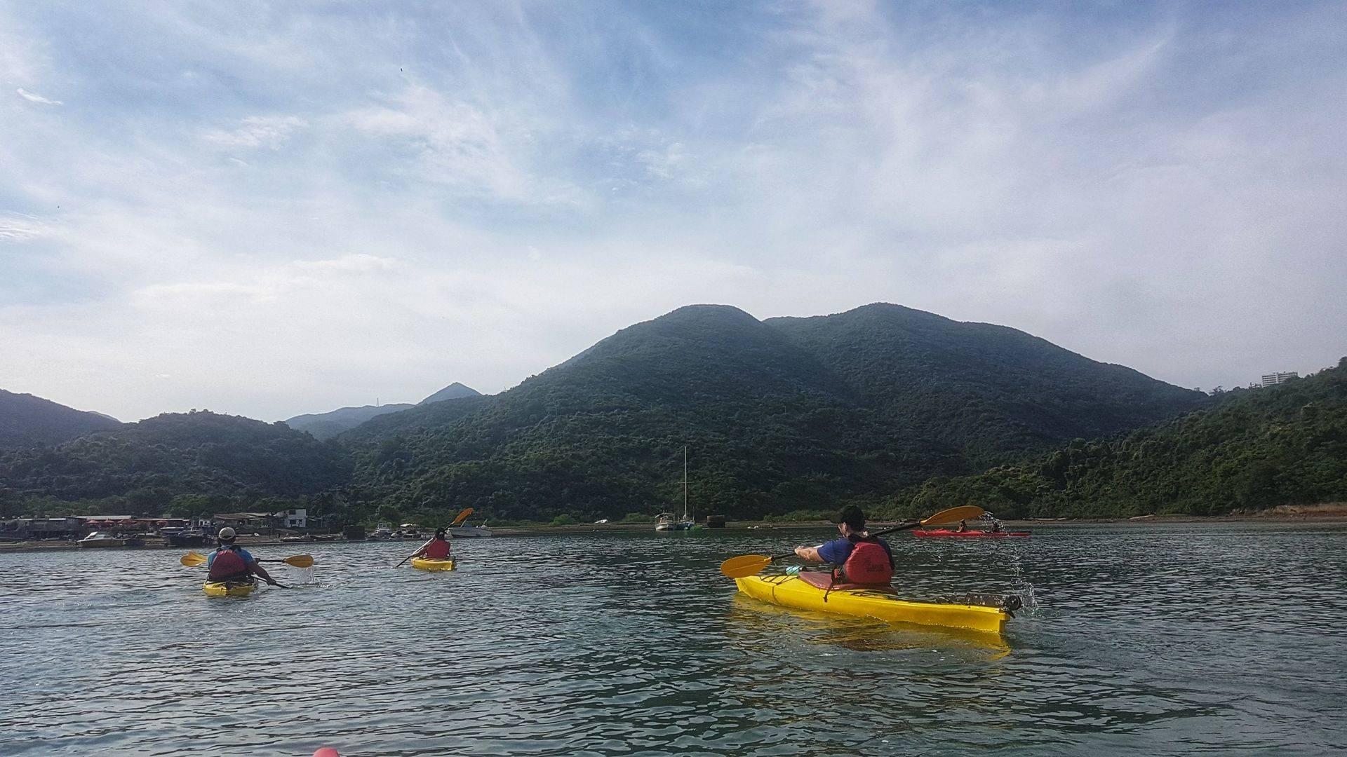 Sea Kayak Hong Kong 2018 Jul01 Tai Tam_28