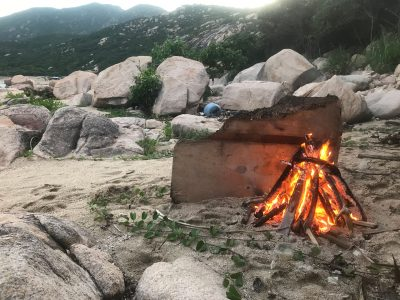 campfire Lamma Island Hong Kong