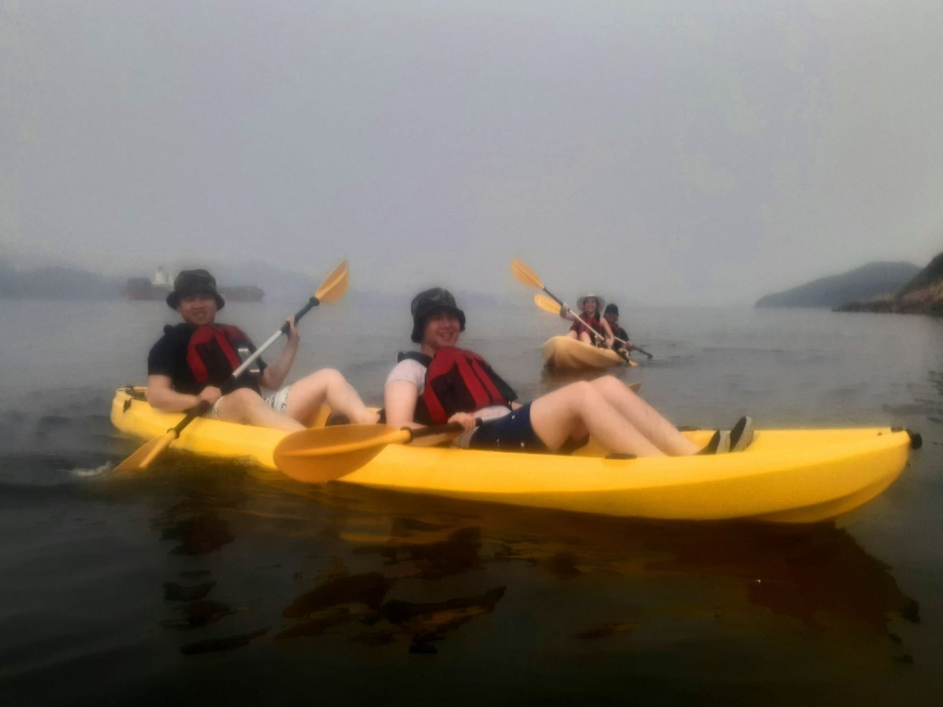 Dog Island Kayak Trip Hong Kong July 17 2019