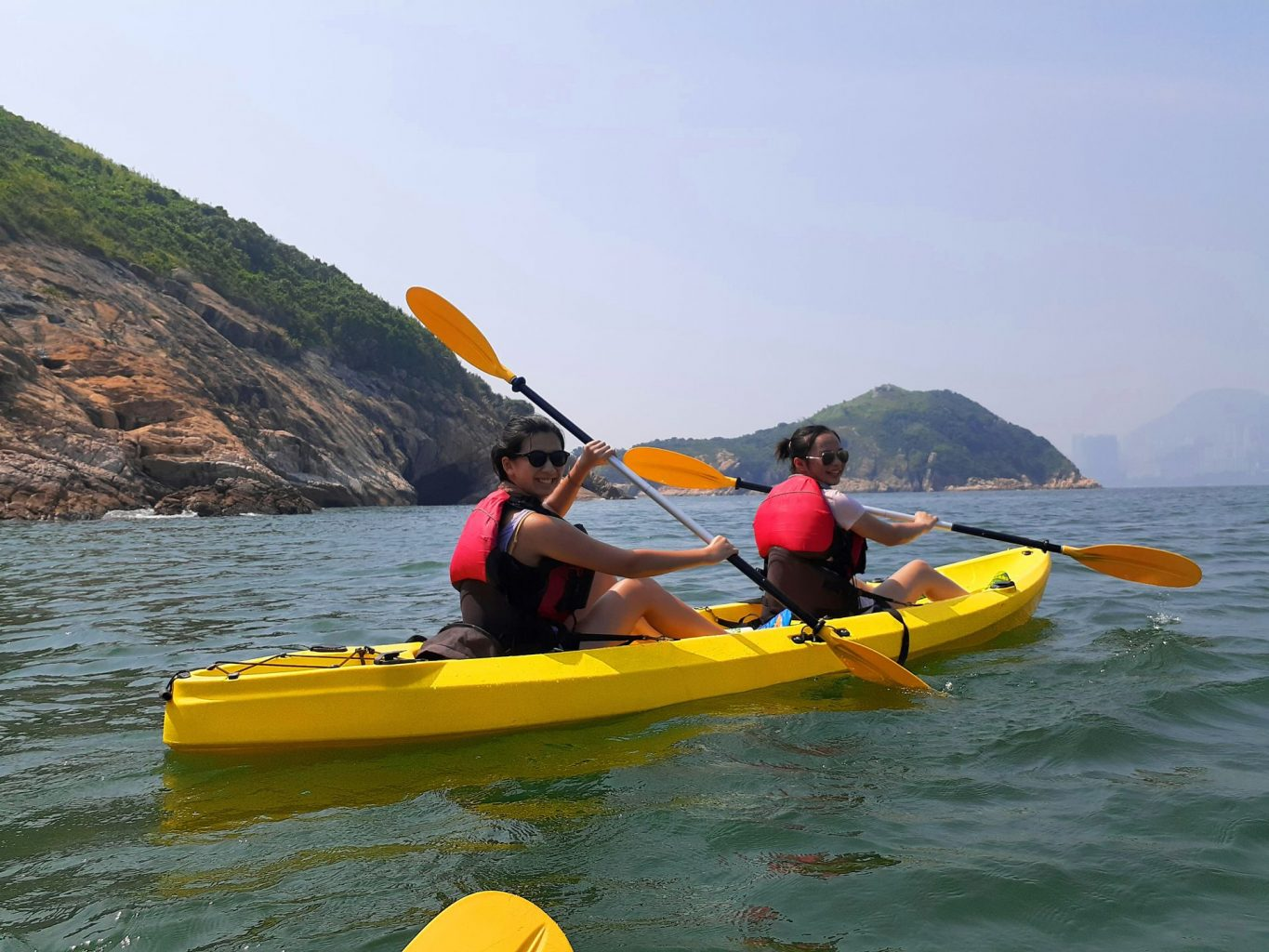 Dog Island kayak Hong Kong Aug 8 2019