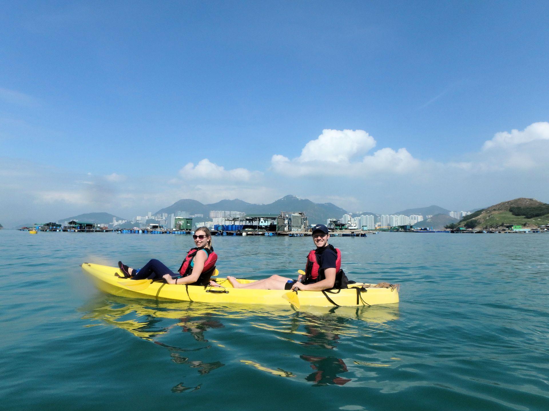 Sok Kwu Wan kayaking
