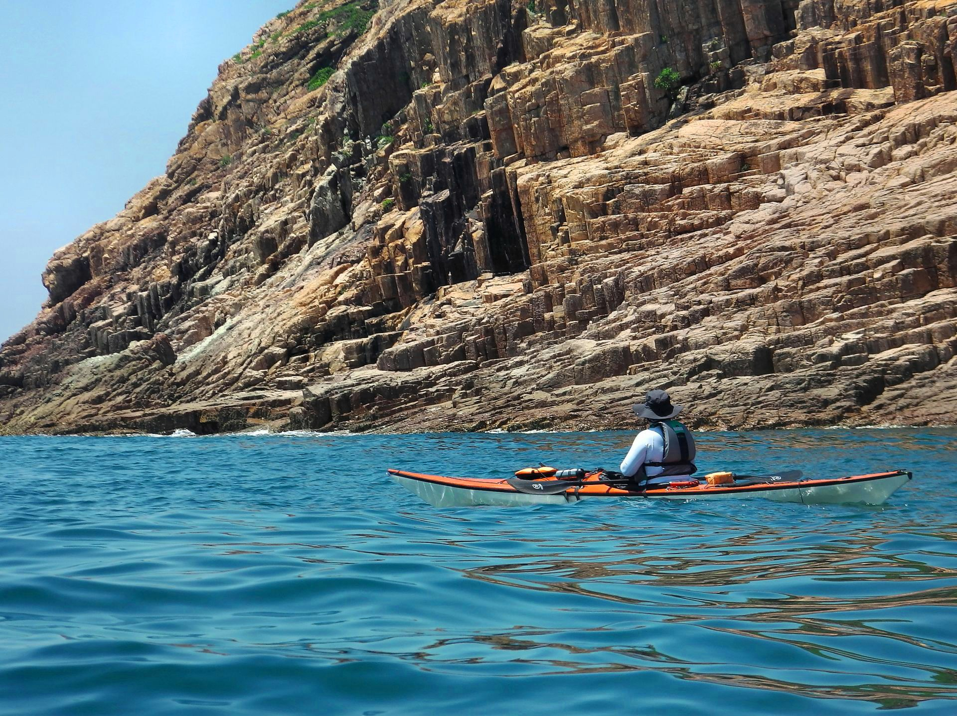 Sea Kayak Hong Kong 2018 Jul 28 UNESCO Geopark_43