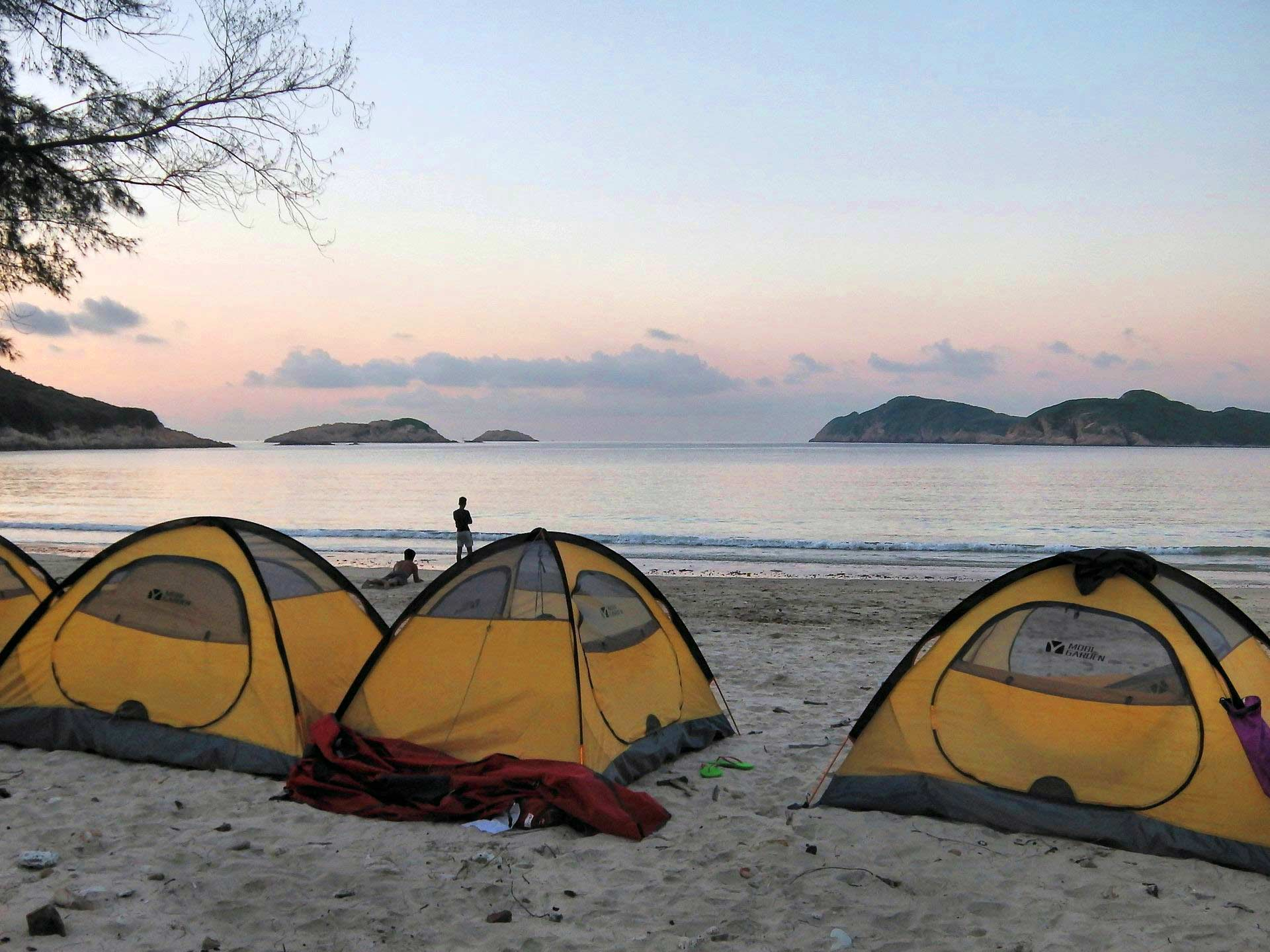 sea kayak camping