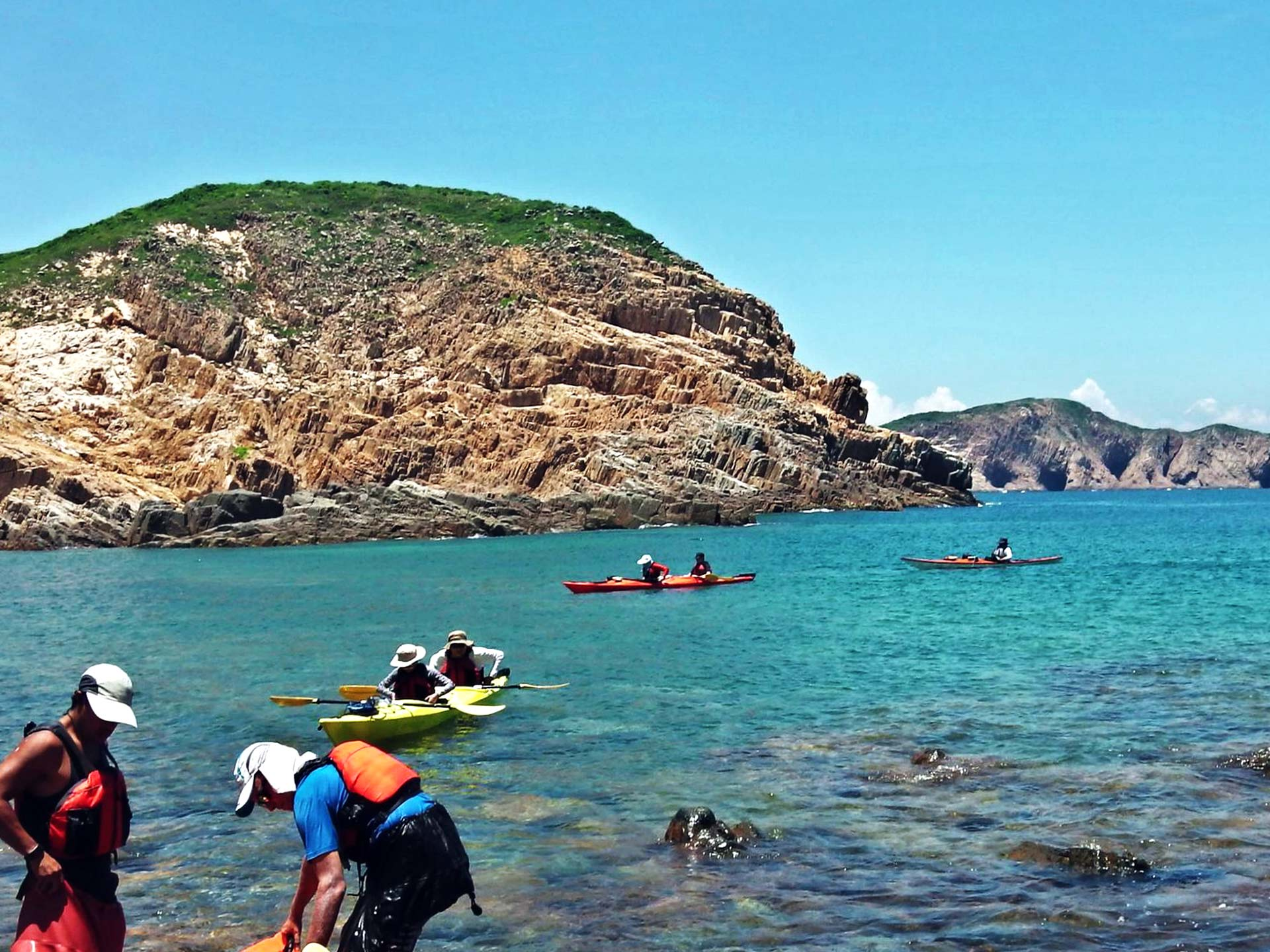 Outer islands Sai Kung UNESCO Geopark Hong Kong