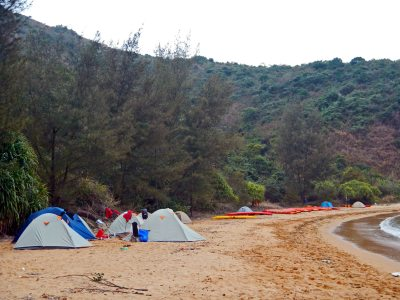 duble island 2 day camping trip
