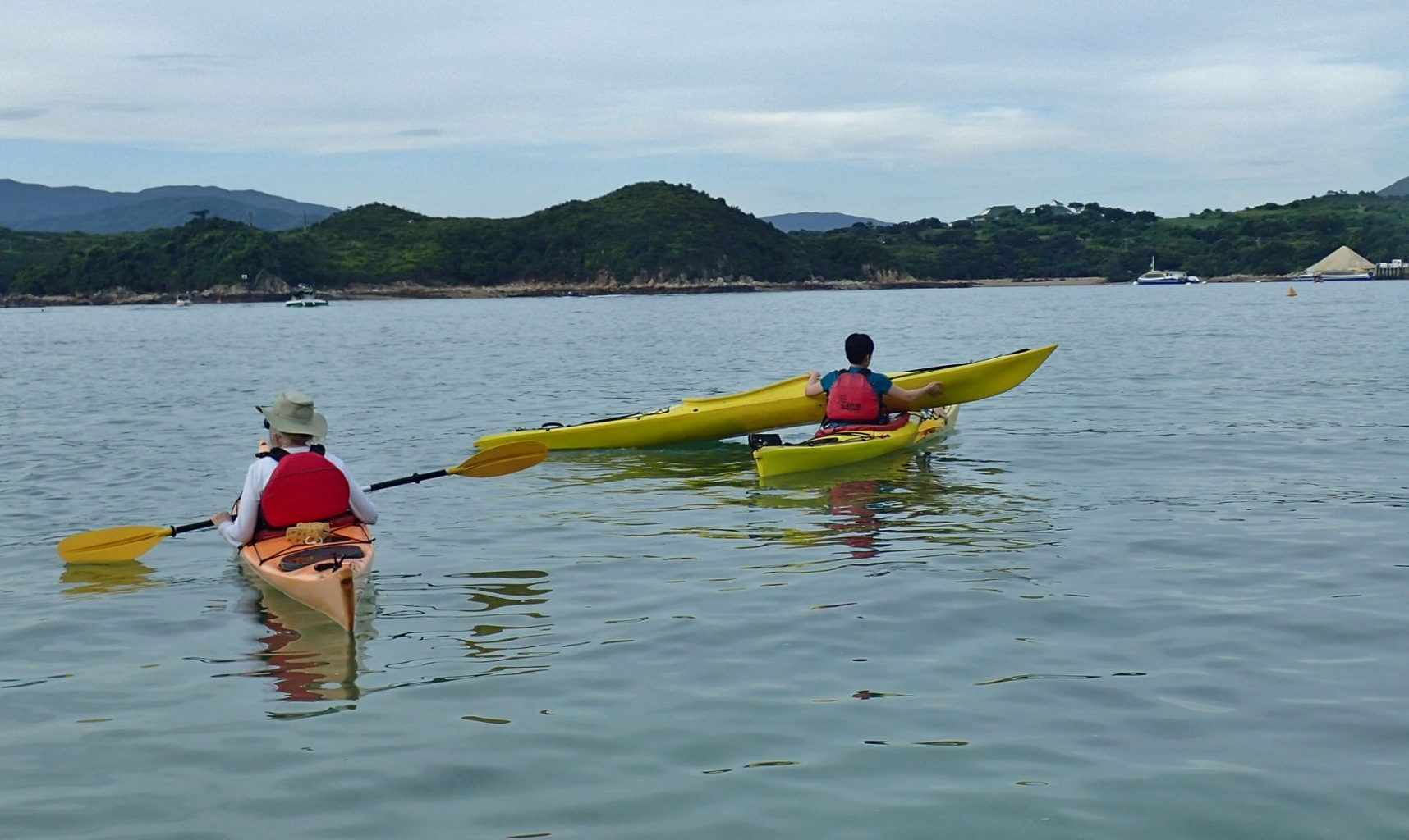 sea kayak basic rescue course Hong Kong