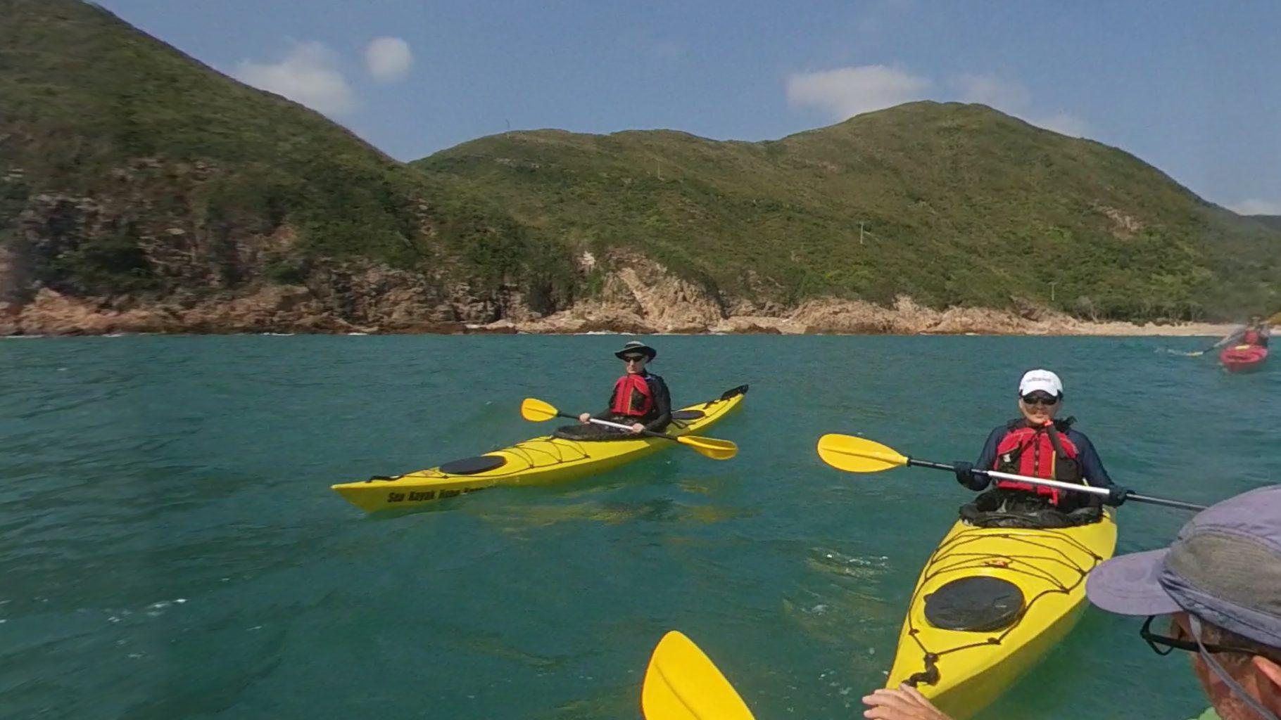 sea kayak journey