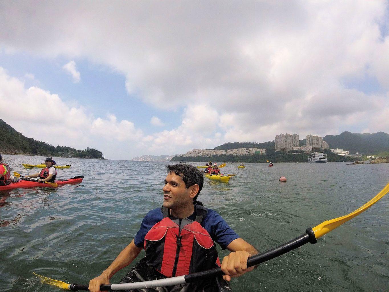 Sea Kayak Hong Kong Tai Tam Bay mile builder