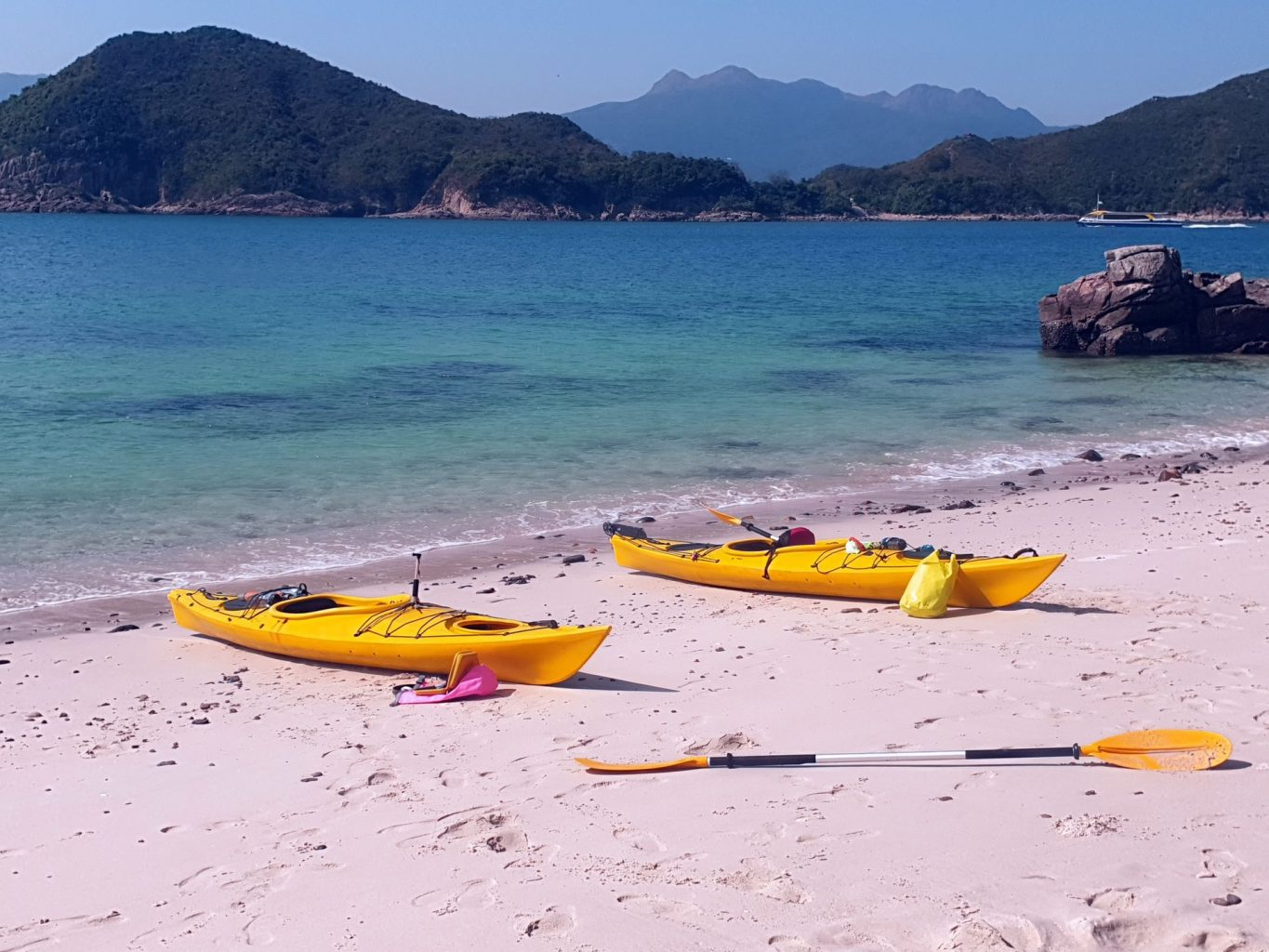 ea Kayak Hong Kong Sharp Island Whiskey Beach