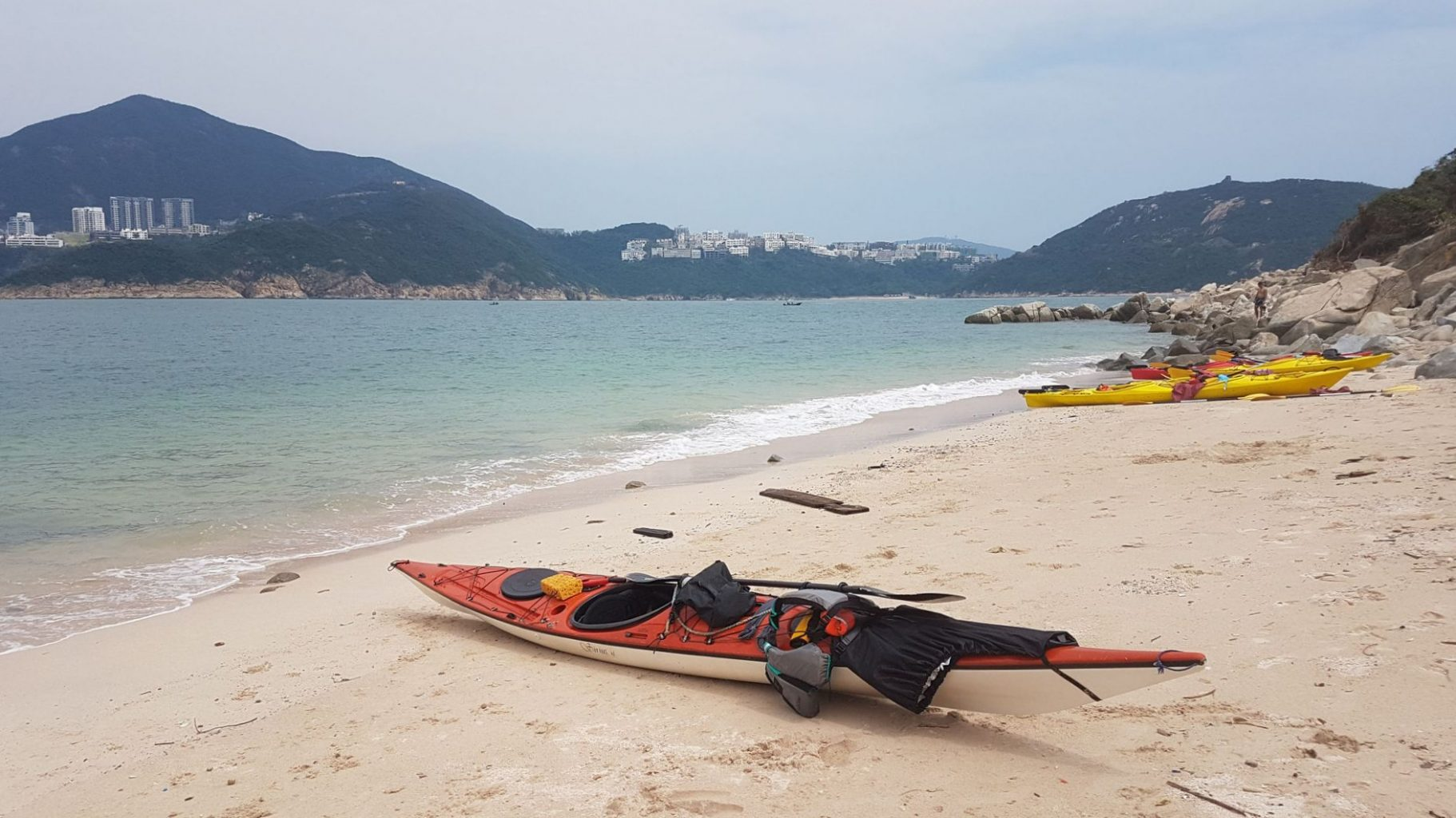 Sea Kayak Hong Kong Tai Tam Wan beach