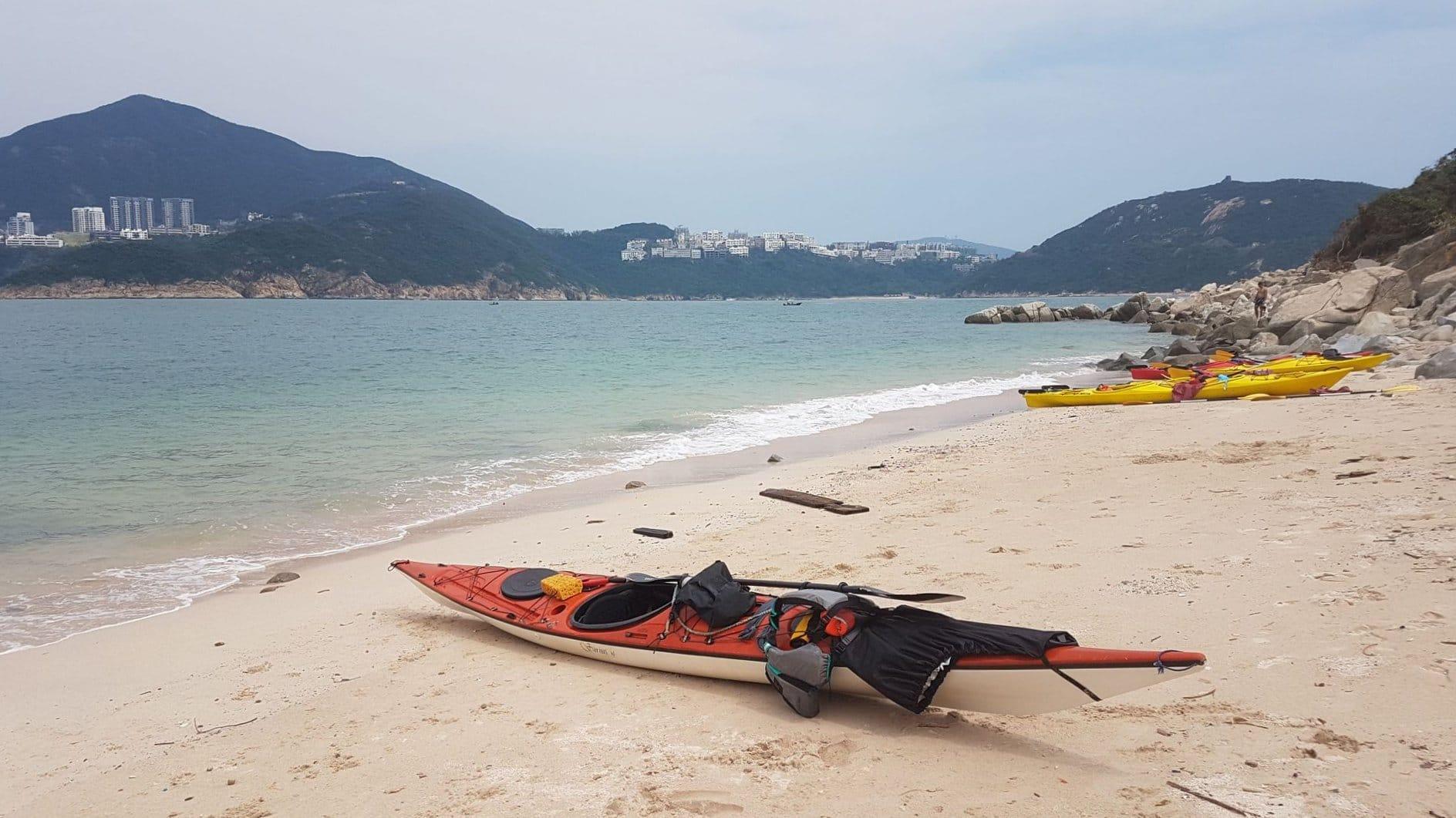 Sea Kayak Hong Kong Tai Tam Wan beach