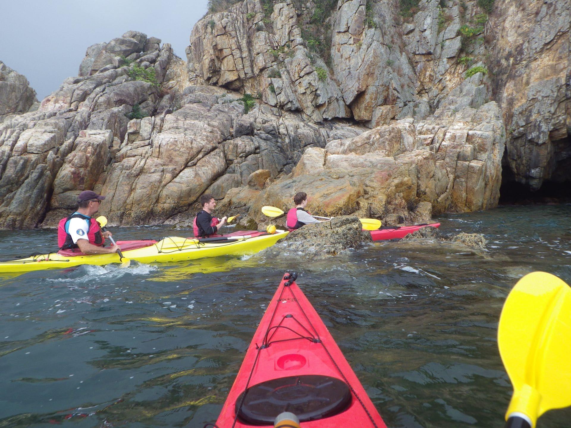 2020 Sea Kayak Hong Kong Sharp Island