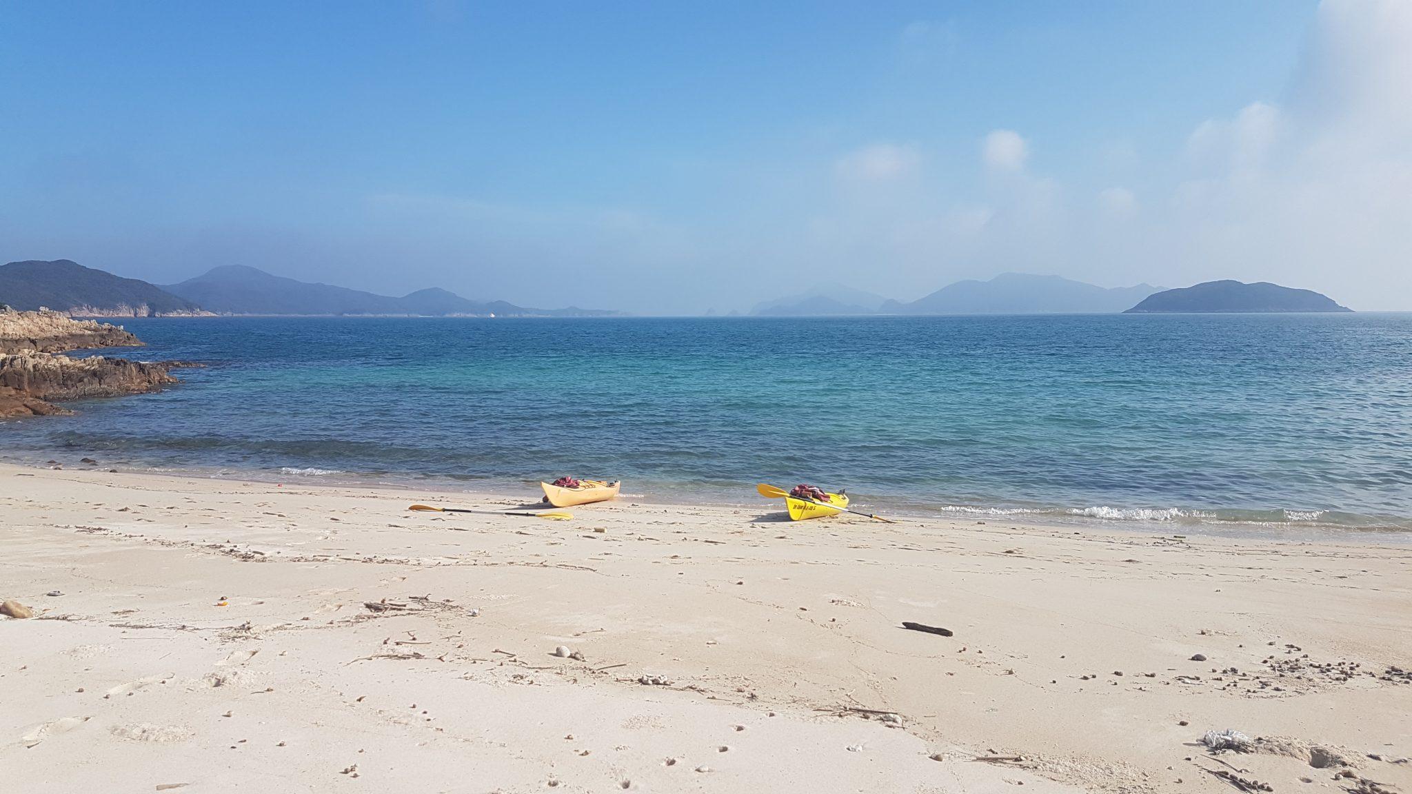 UNESCO Geopark 1 day sea kayak trip Hong Kong _15