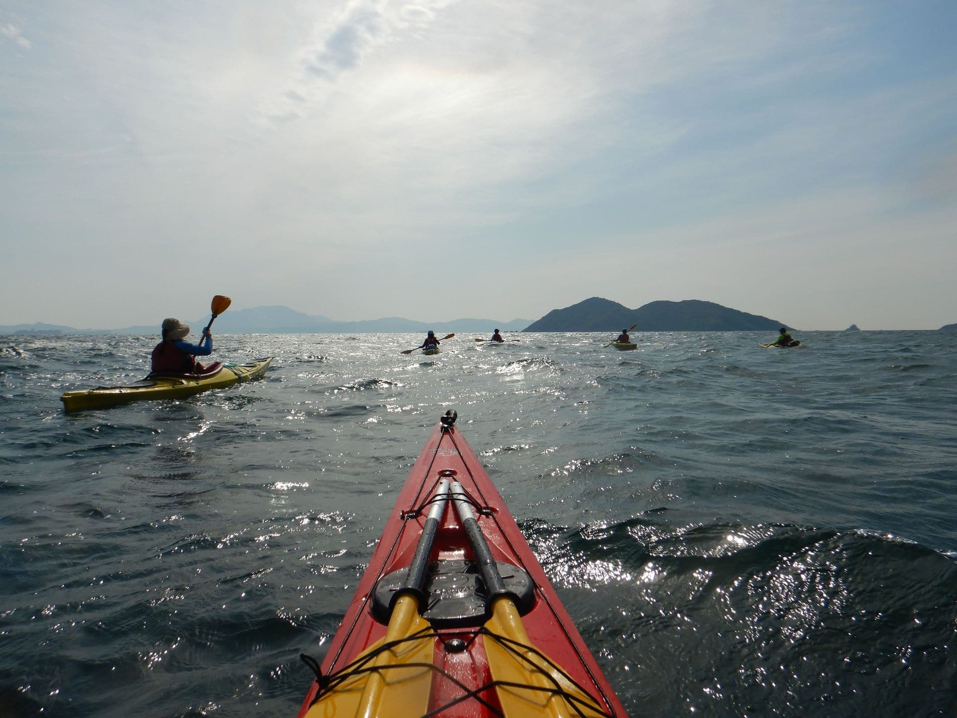 sea kayak journey in Hong Kong