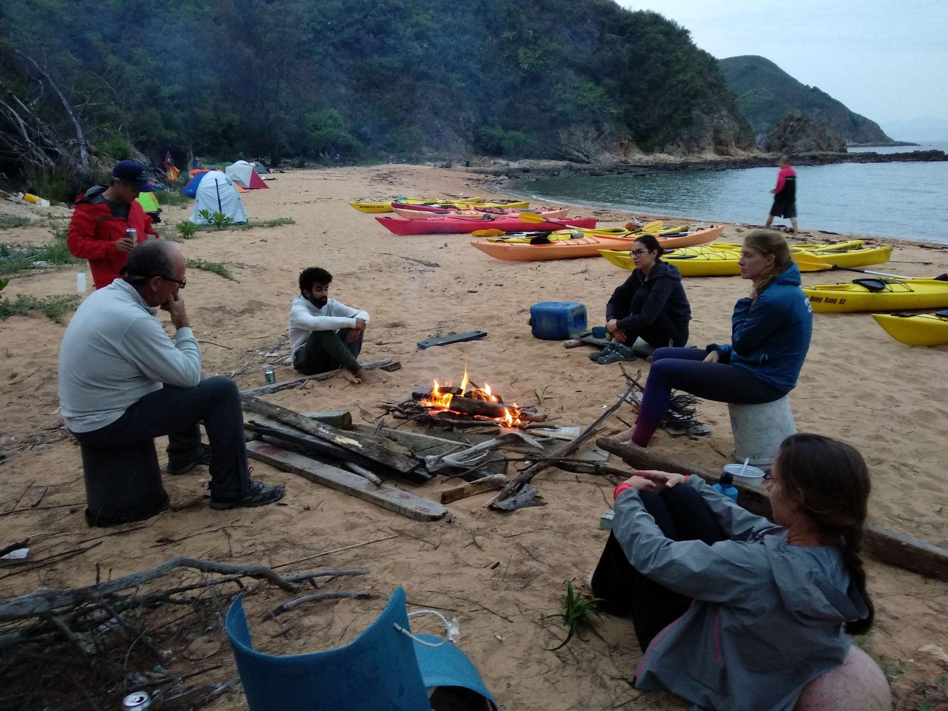 Sea kayak Club events