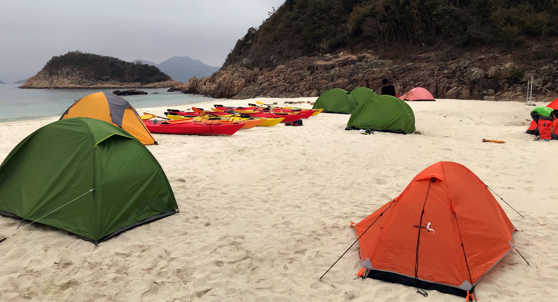 2 day sea camping trip
