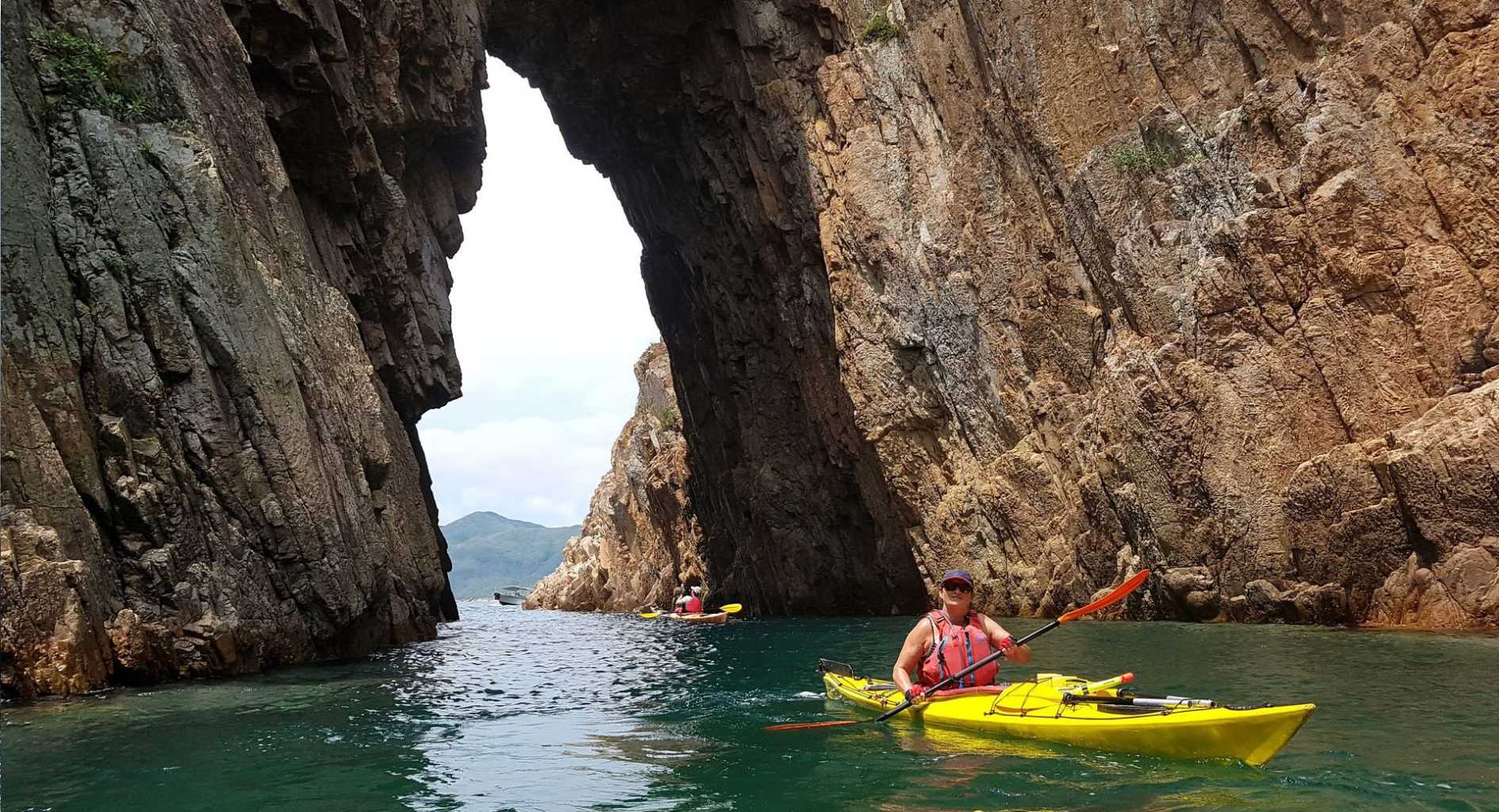 Jing island sea arch