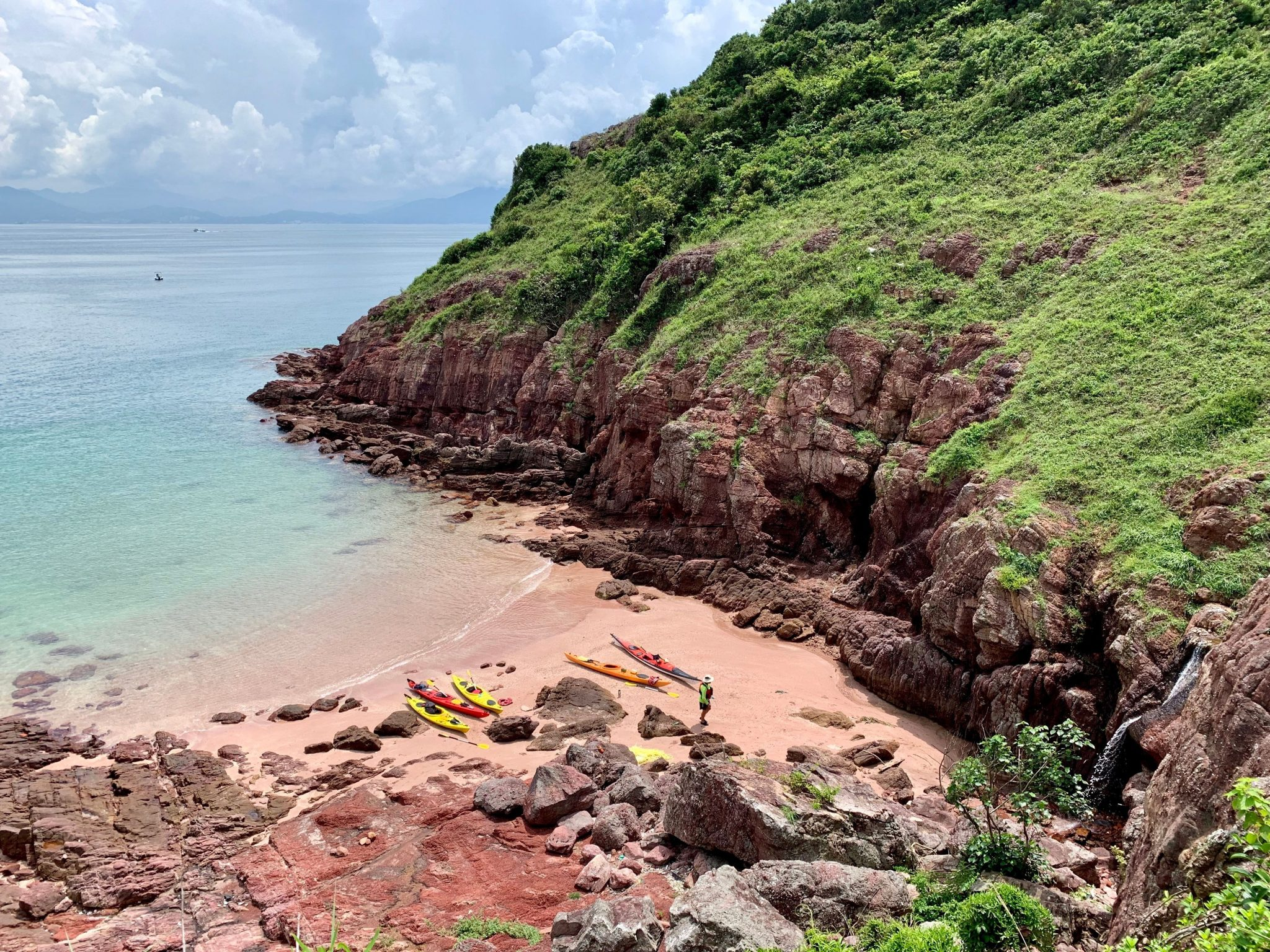 port island beach Double Haven